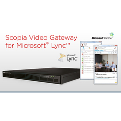 SCOPIA Gateway for Microsoft Lync