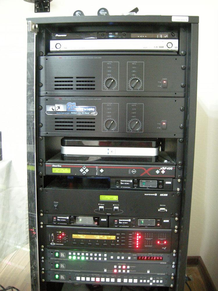 Инсталляцию аудио-  видео-  телекоммуникационного  сетевого оборудования